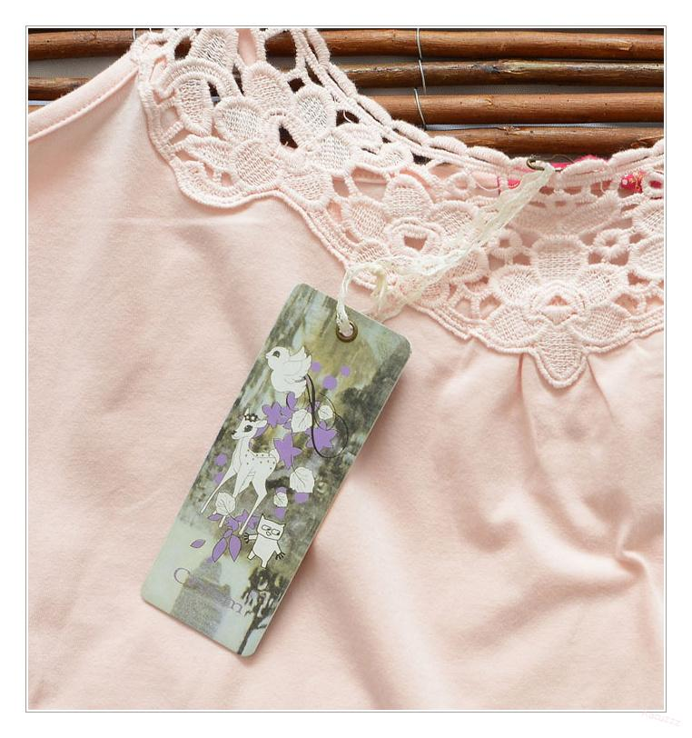 TOP S KRAJKOU CHINTZ  CREAM